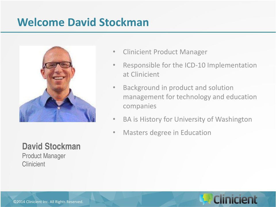 Background in product and solution management for technology and education