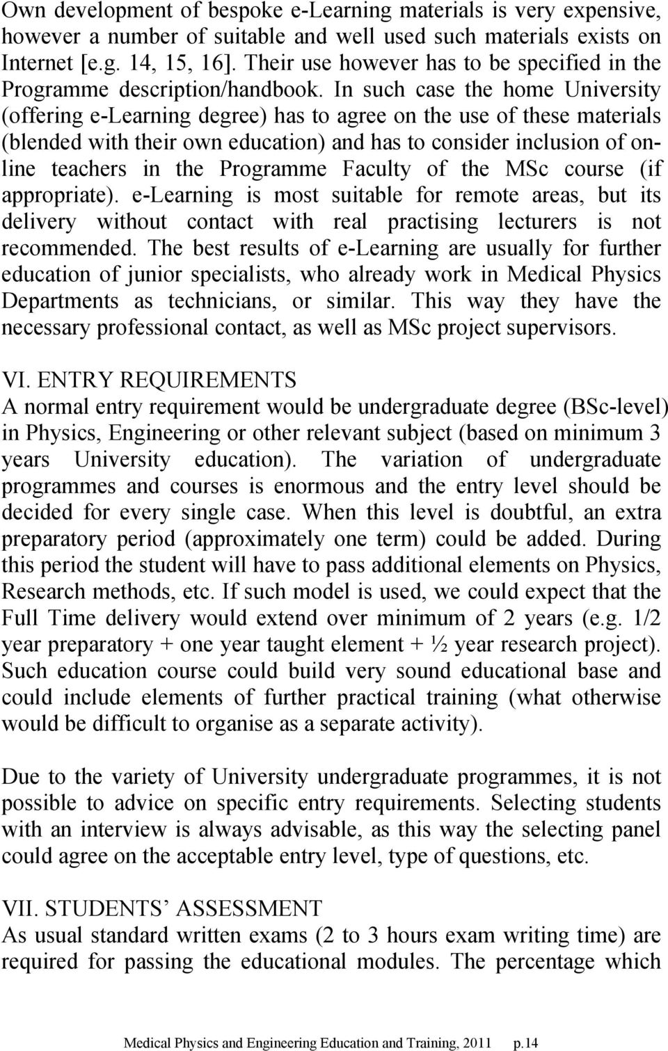 MEDICAL PHYSICS AND ENGINEERING EDUCATION AND TRAINING - PDF