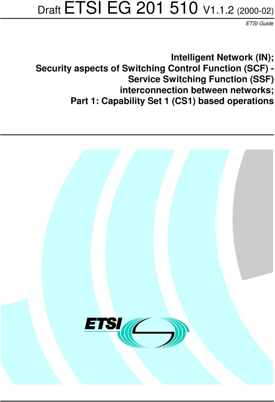 Security aspects of Switching Control Function (SCF) -