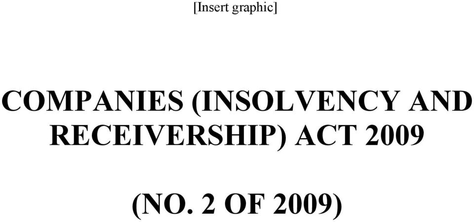 (INSOLVENCY AND