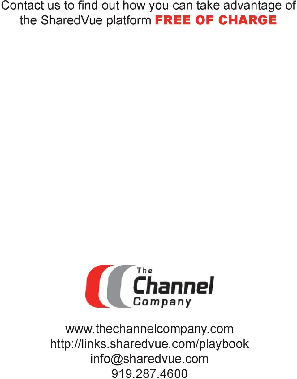 CHARGE www.thechannelcompany.com http://links.