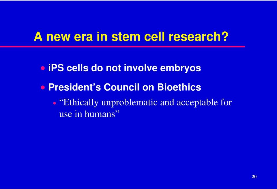 President s Council on Bioethics