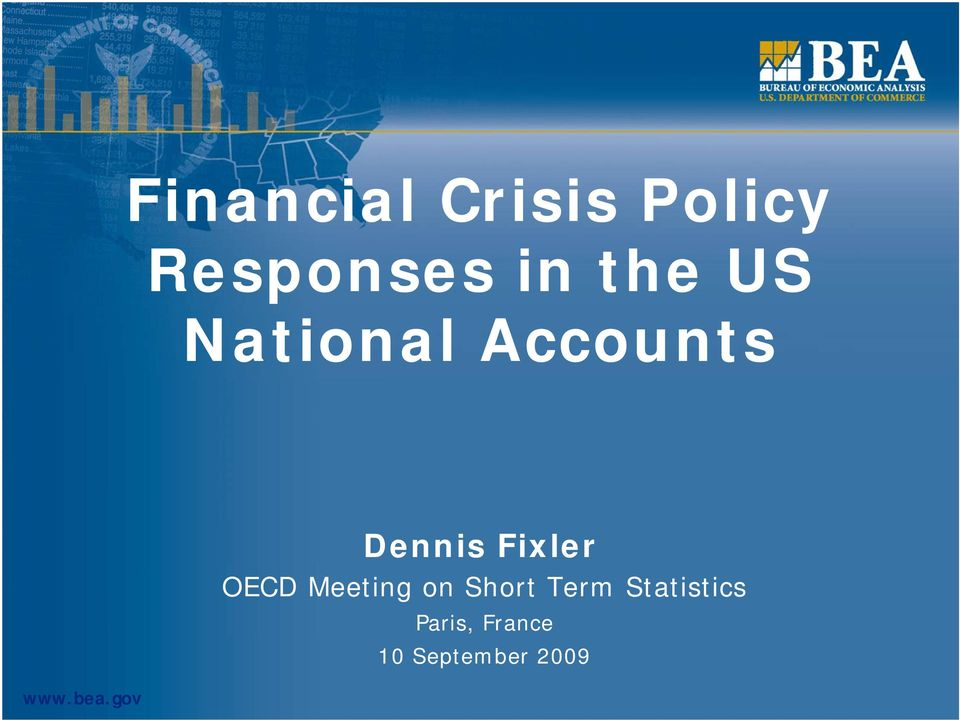gov Dennis Fixler OECD Meeting on Short