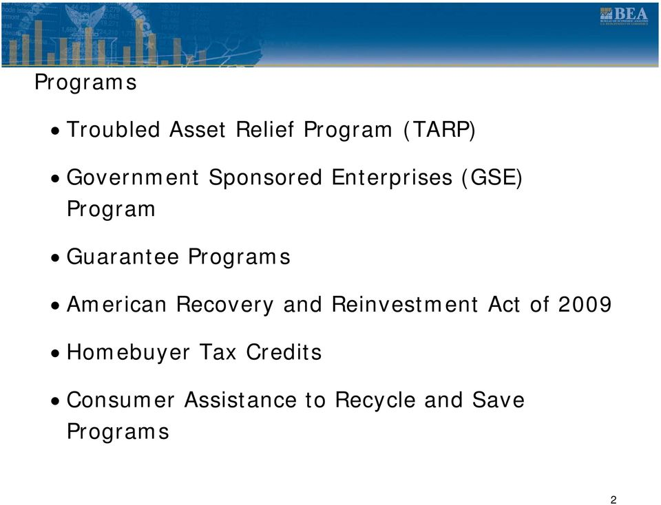 American Recovery and Reinvestment Act of 2009 Homebuyer