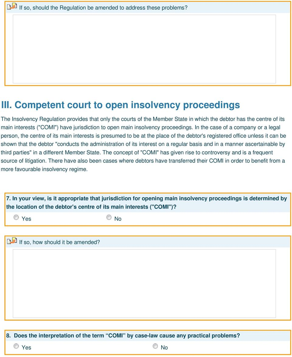 jurisdiction to open main insolvency proceedings.