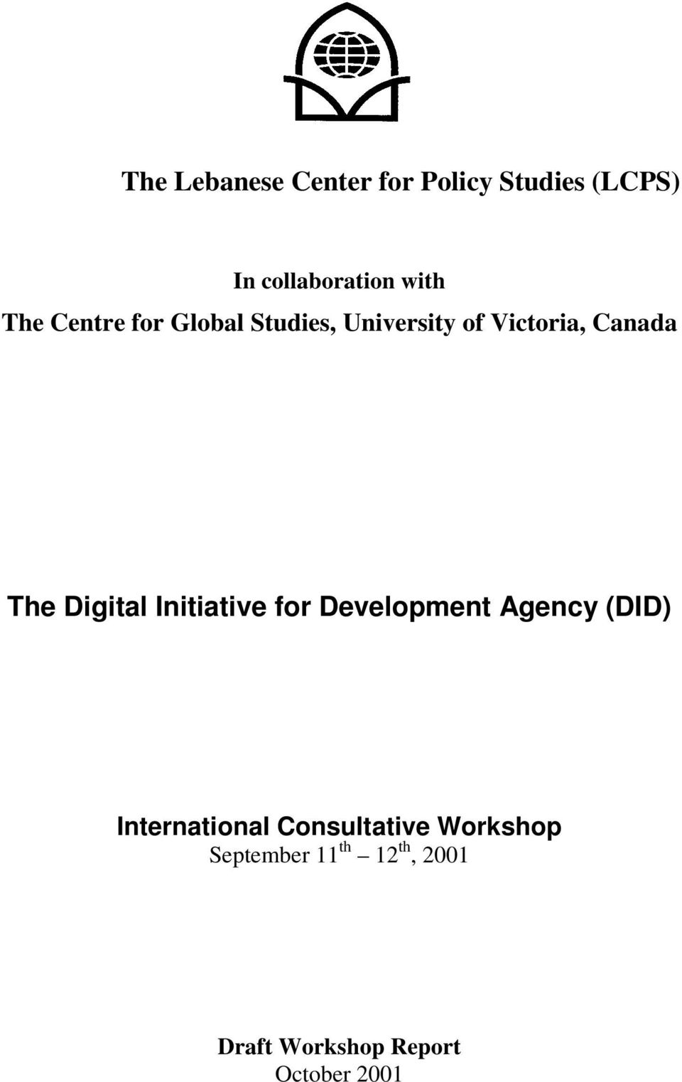 Digital Initiative for Development Agency (DID) International