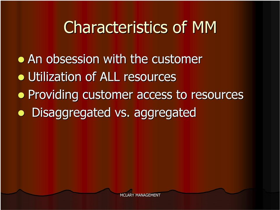 resources Providing customer access