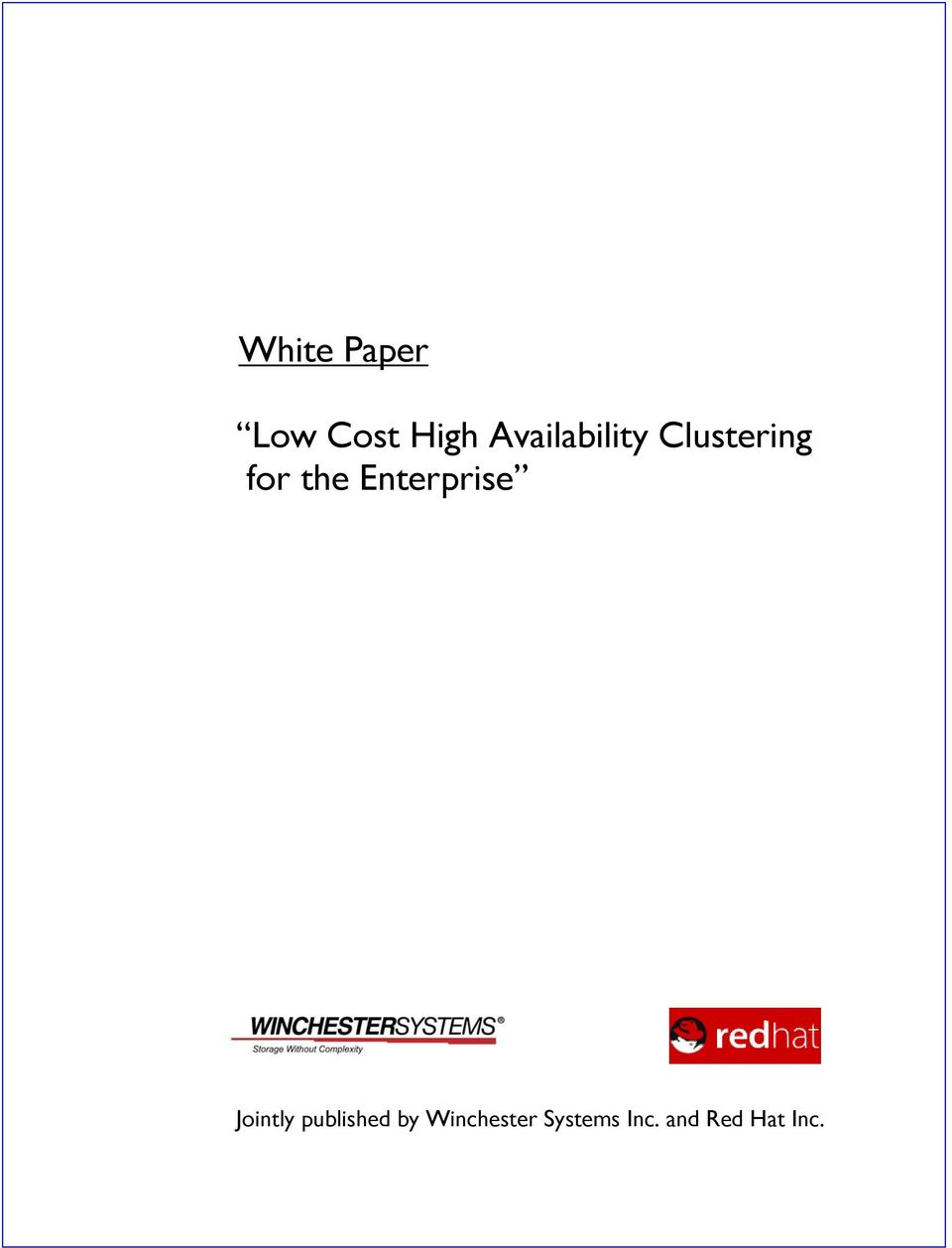 Enterprise Jointly published by