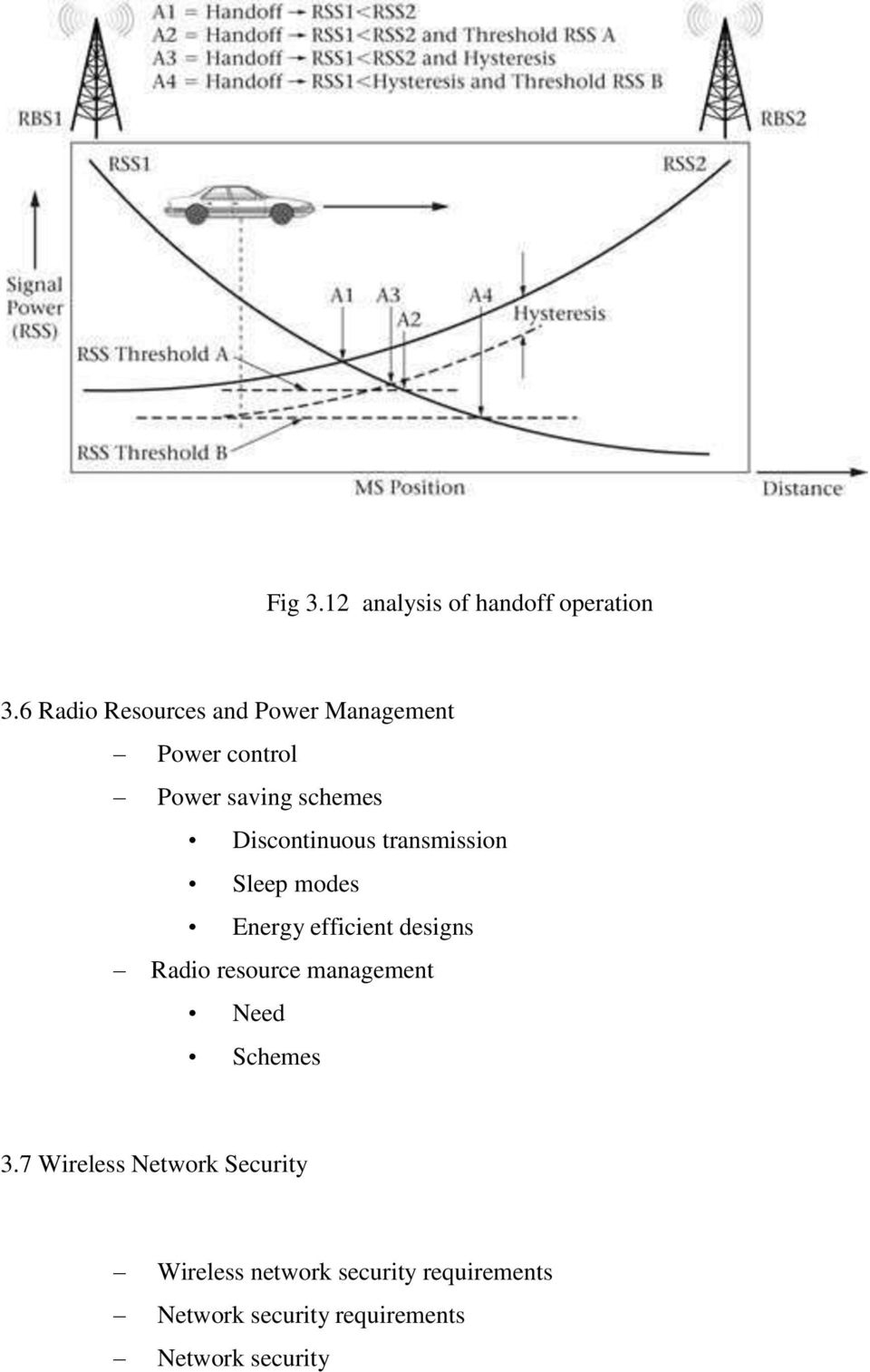 Discontinuous transmission Sleep modes Energy efficient designs Radio resource