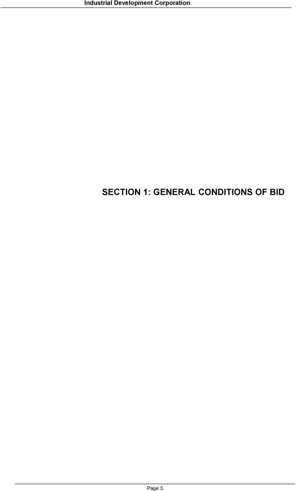 Corporation SECTION