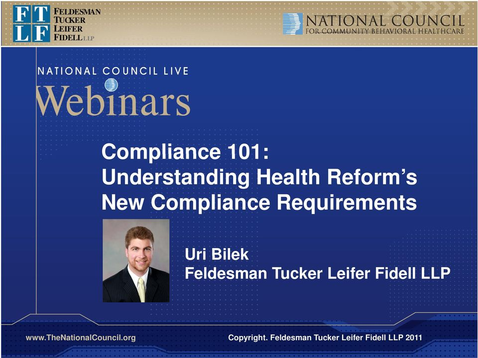 Compliance Requirements Uri