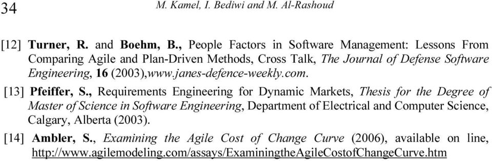 Engineering, 16 (2003),www.janes-defence-weekly.com. [13] Pfeiffer, S.