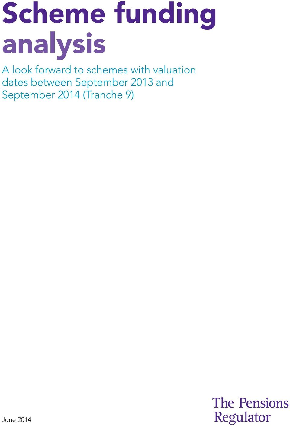dates between September 2013 and