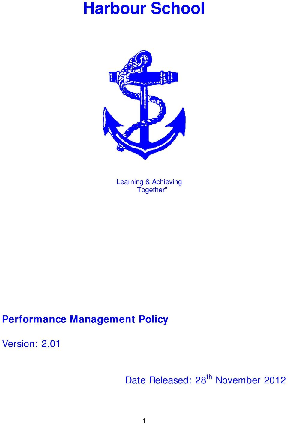 Management Policy Version: 2.