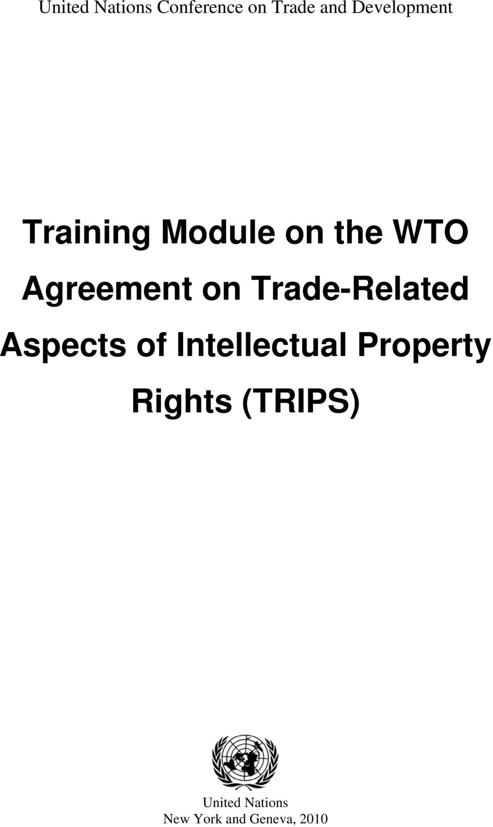 on Trade-Related Aspects of Intellectual