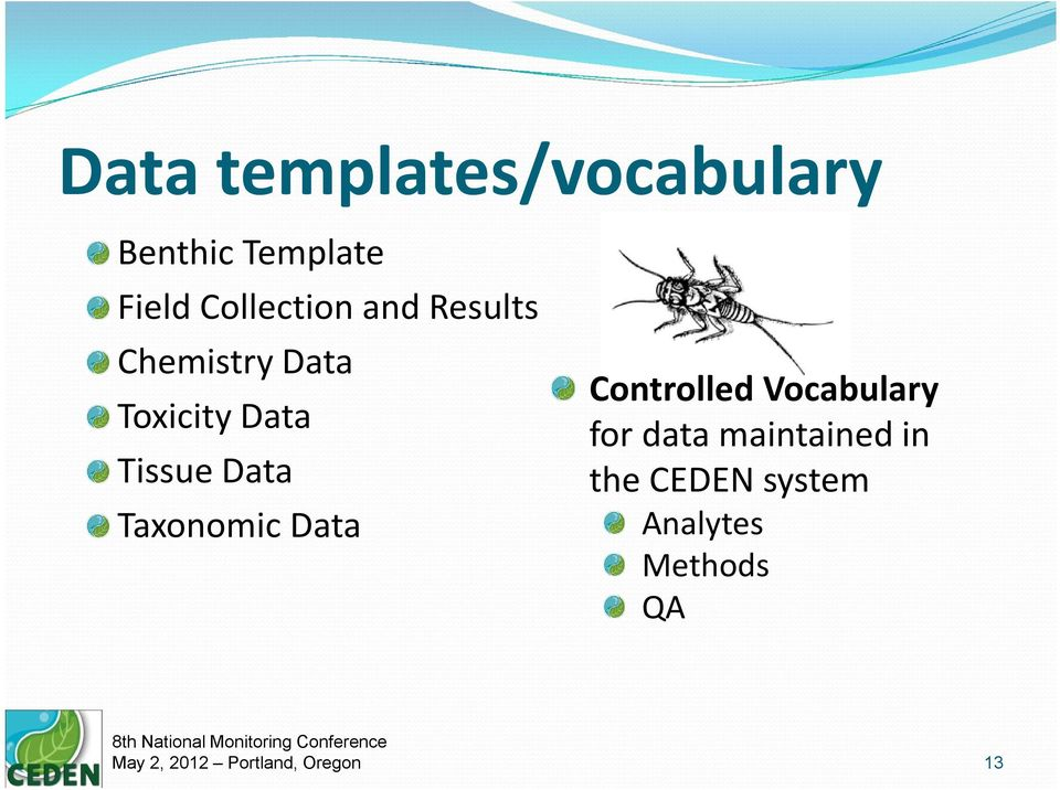 Tissue Data Taxonomic Data Controlled Vocabulary for