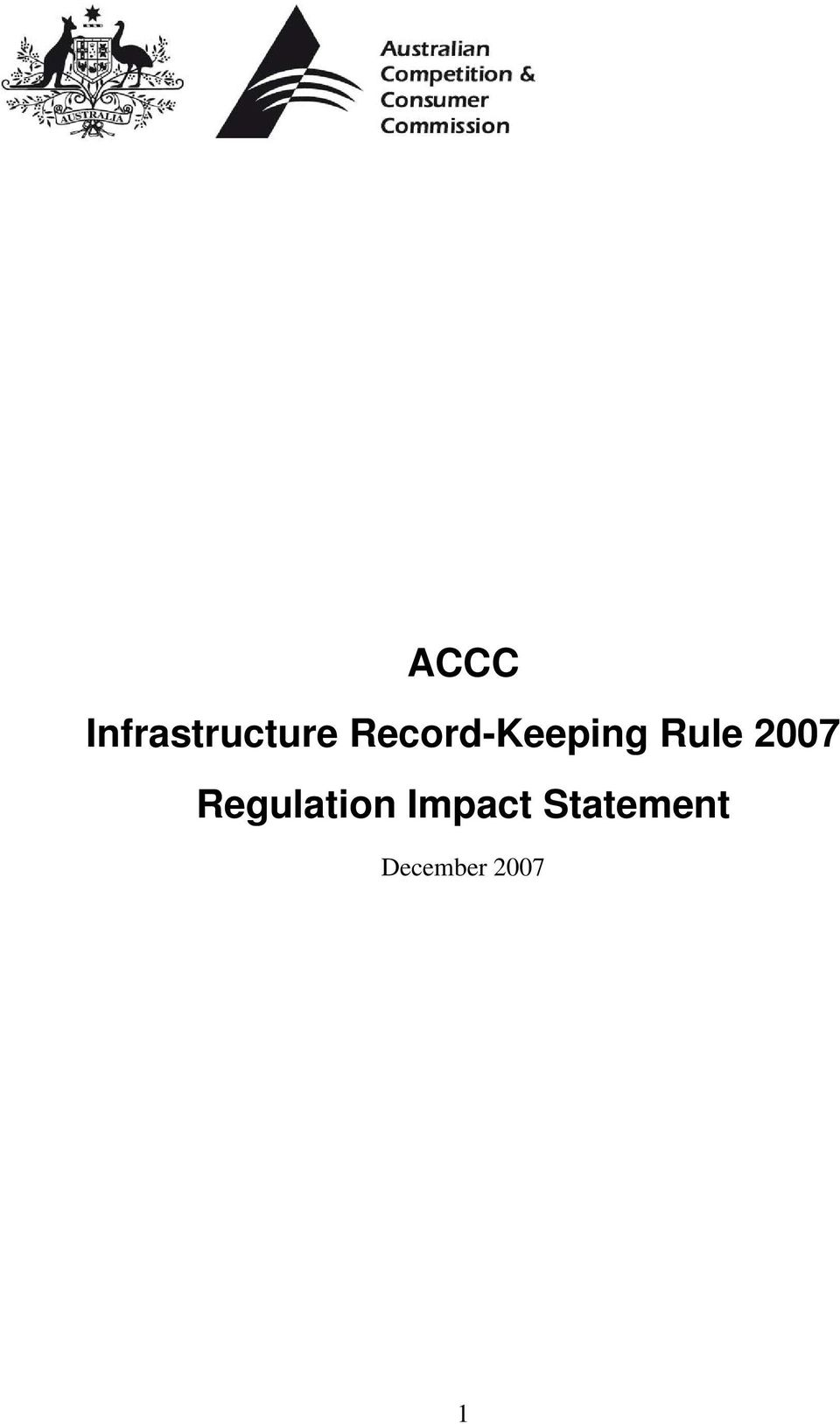 2007 Regulation