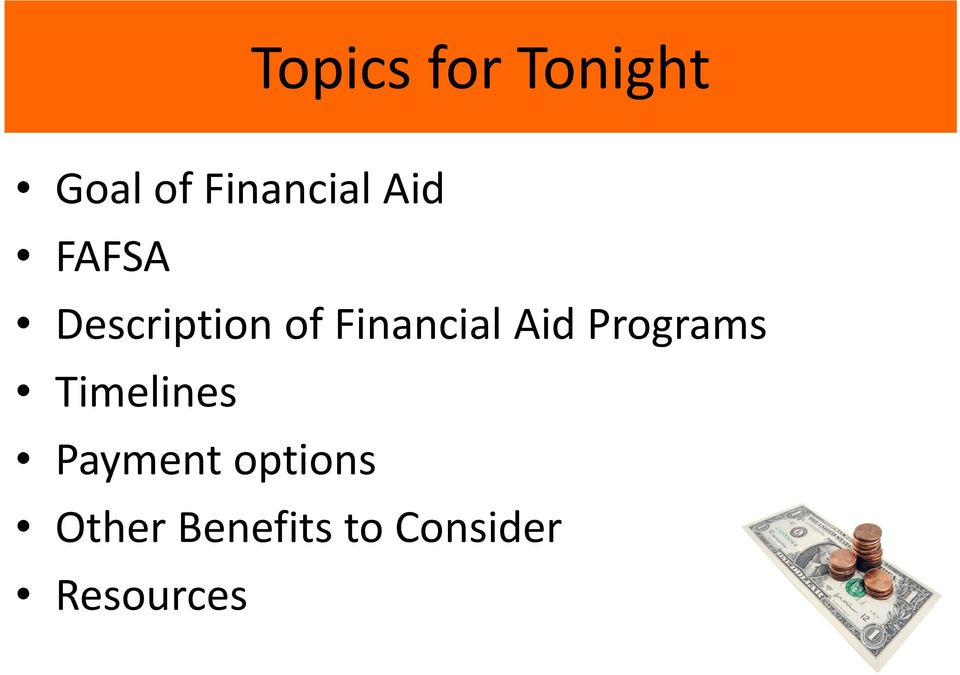 Aid Programs Timelines Payment