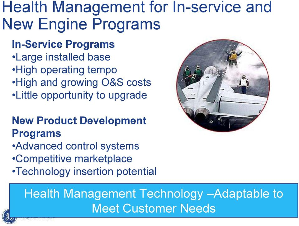 upgrade New Product Development Programs Advanced control systems Competitive marketplace