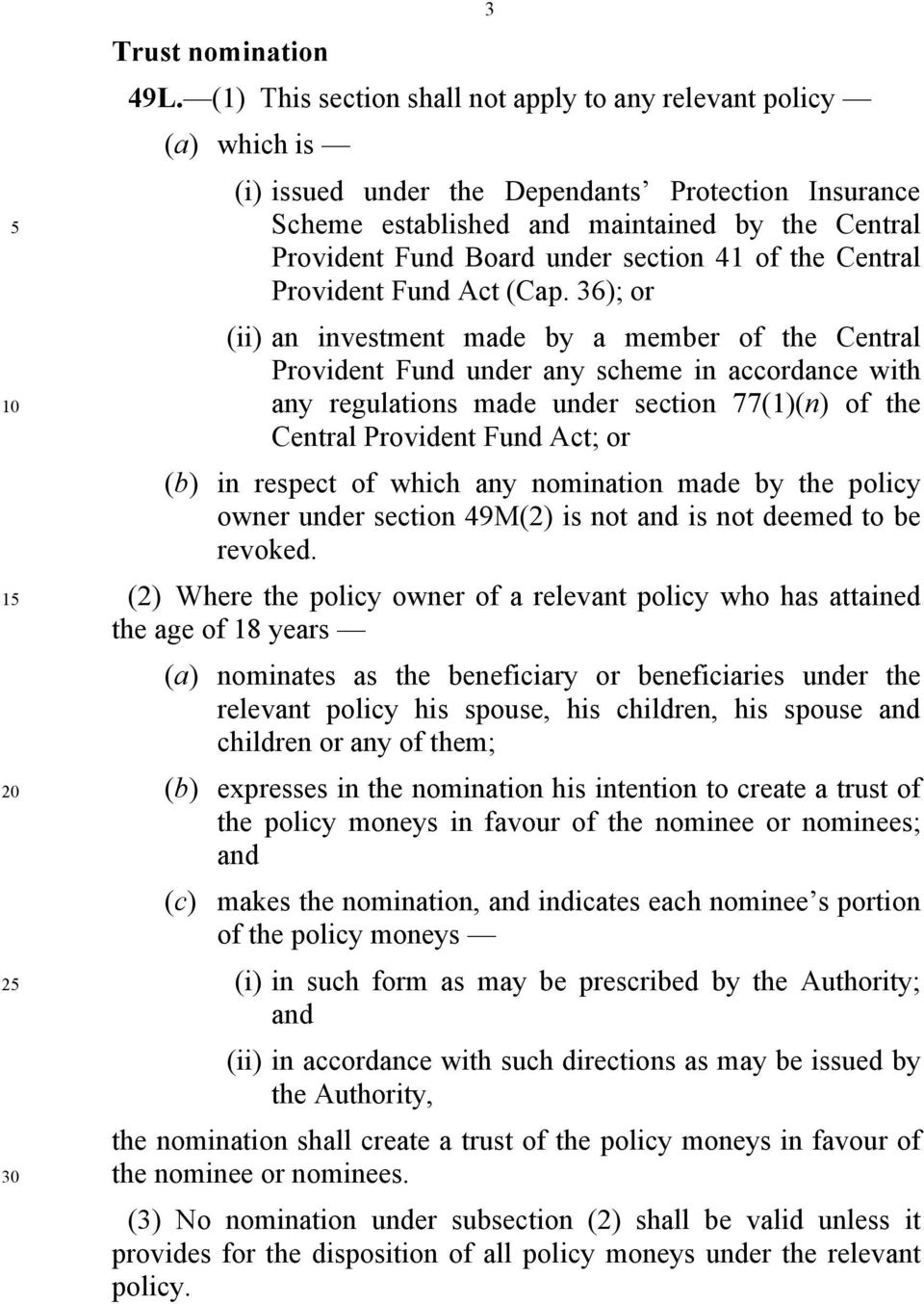 section 41 of the Central Provident Fund Act (Cap.