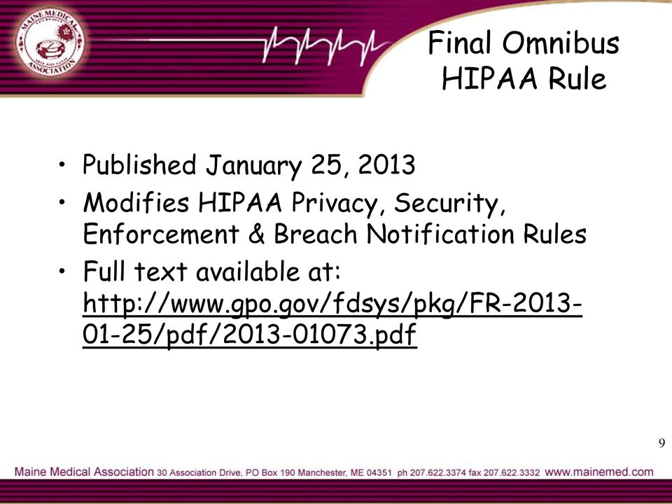 Breach Notification Rules Full text available at: