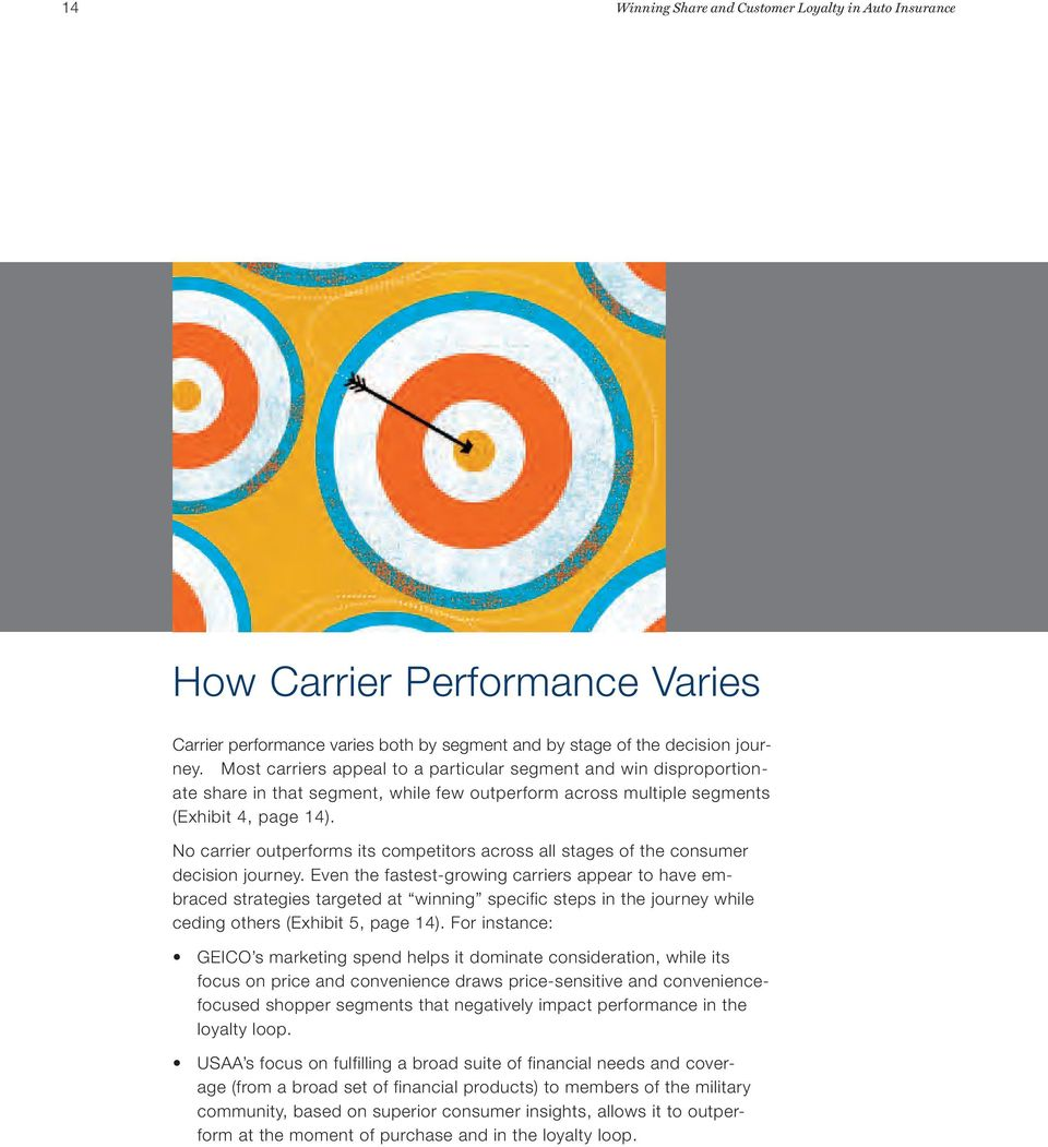 No carrier outperforms its competitors across all stages of the consumer decision journey.