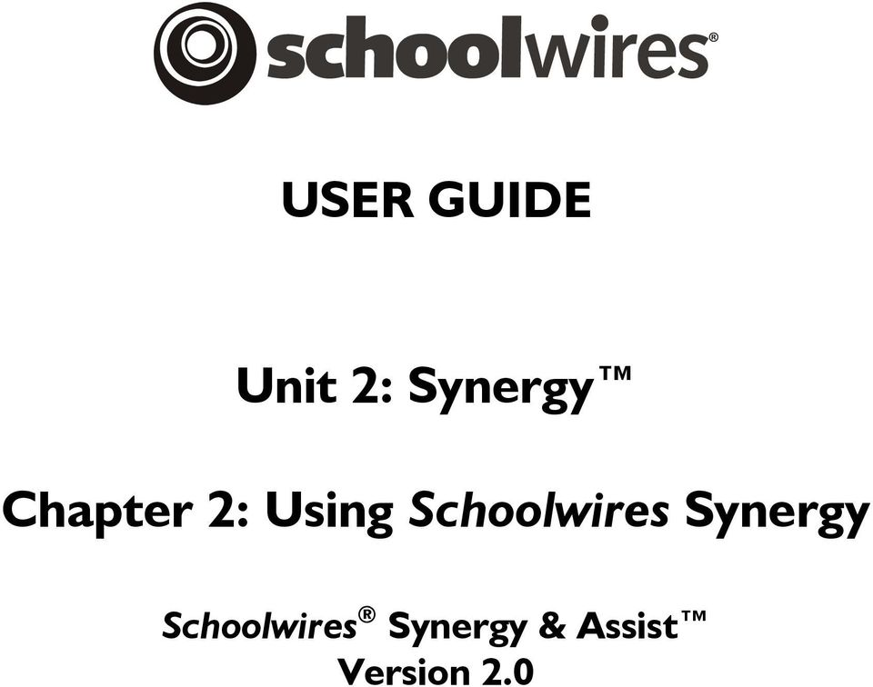 Schoolwires Synergy