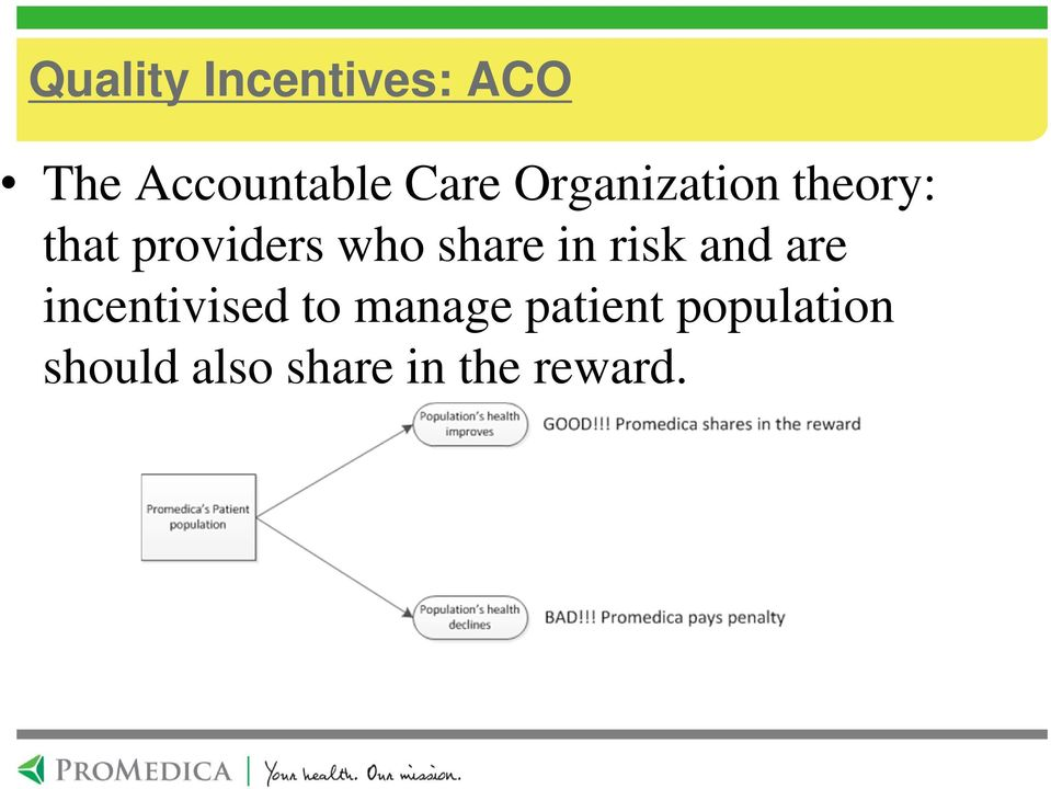 in risk and are incentivised to manage