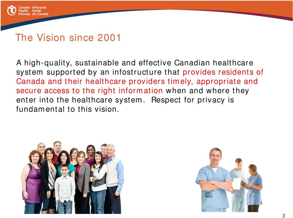healthcare providers timely, appropriate and secure access to the right information when