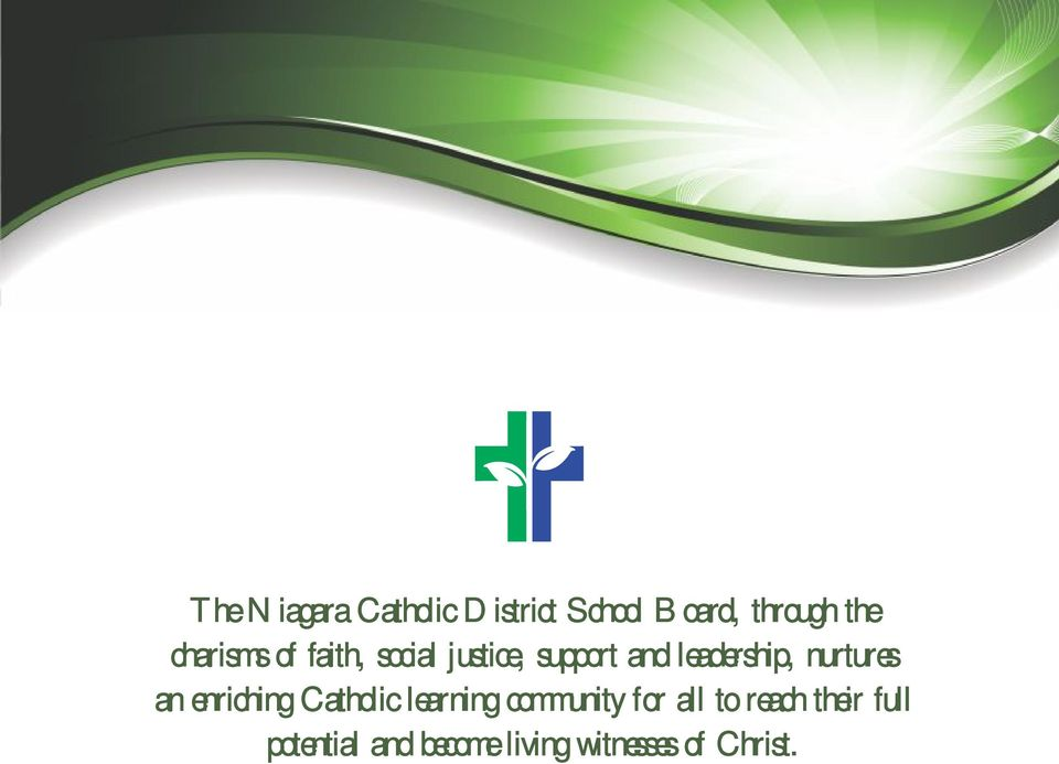 nurtures an enriching Cathoic earning community for a to