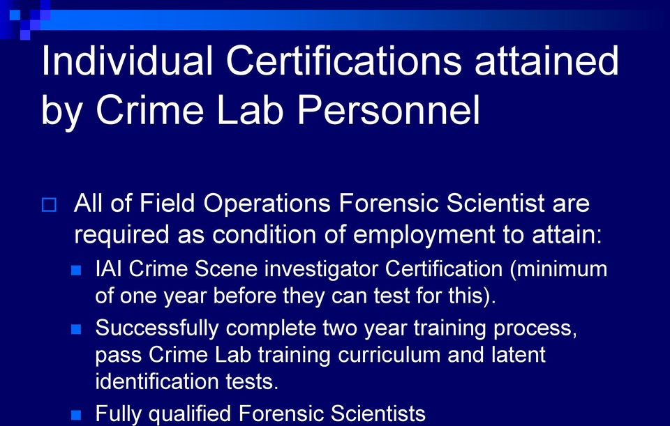 Minneapolis Police Department Crime Lab Ascldlab Iso International