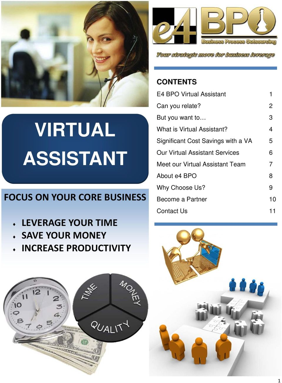 PRODUCTIVITY But you want to 3 What is Virtual Assistant?