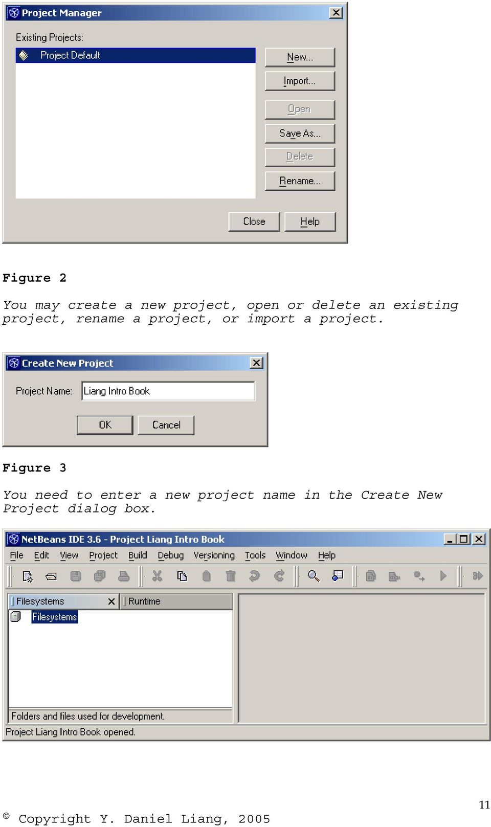 import a project.