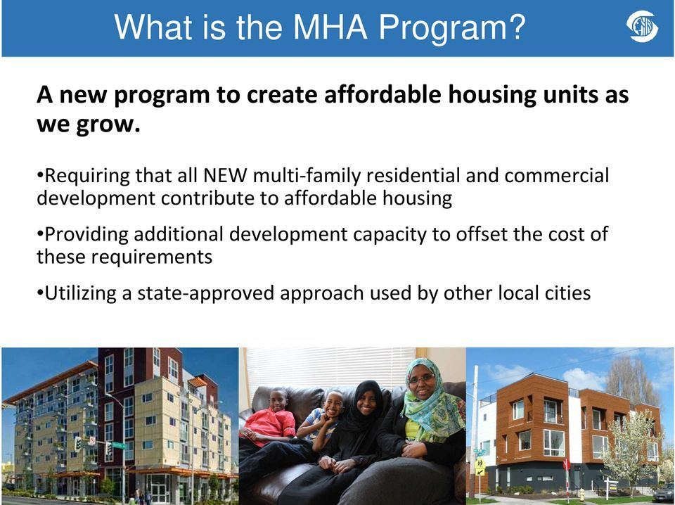 contribute to affordable housing Providing additional development capacity to offset