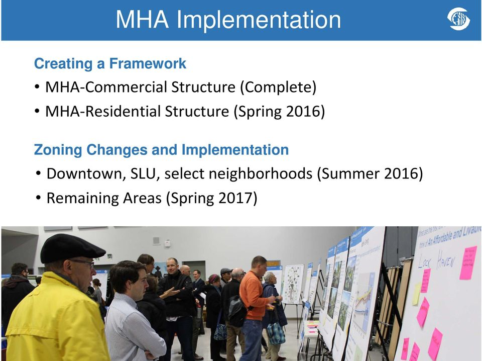 2016) Zoning Changes and Implementation Downtown, SLU,
