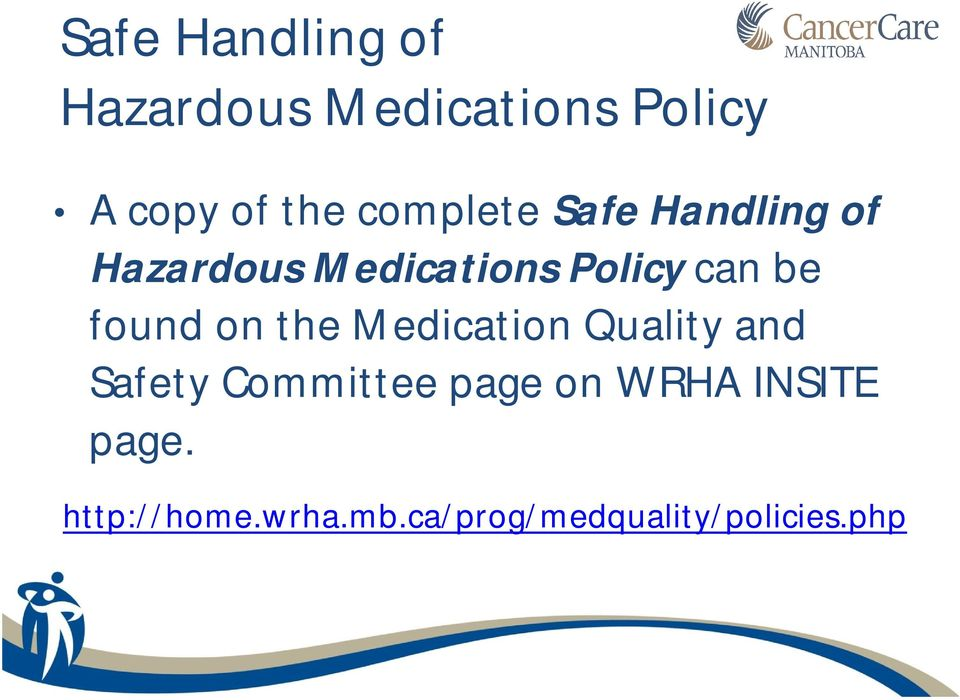 found on the Medication Quality and Safety Committee page on