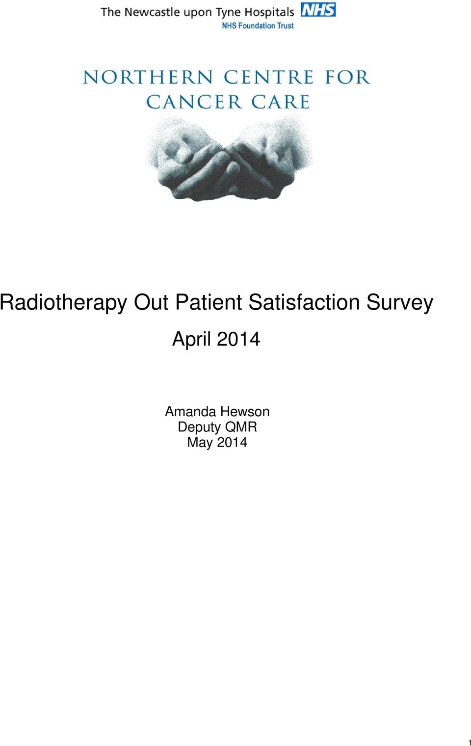 Survey April 2014