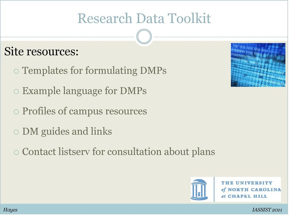 of campus resources DM guides and links Contact