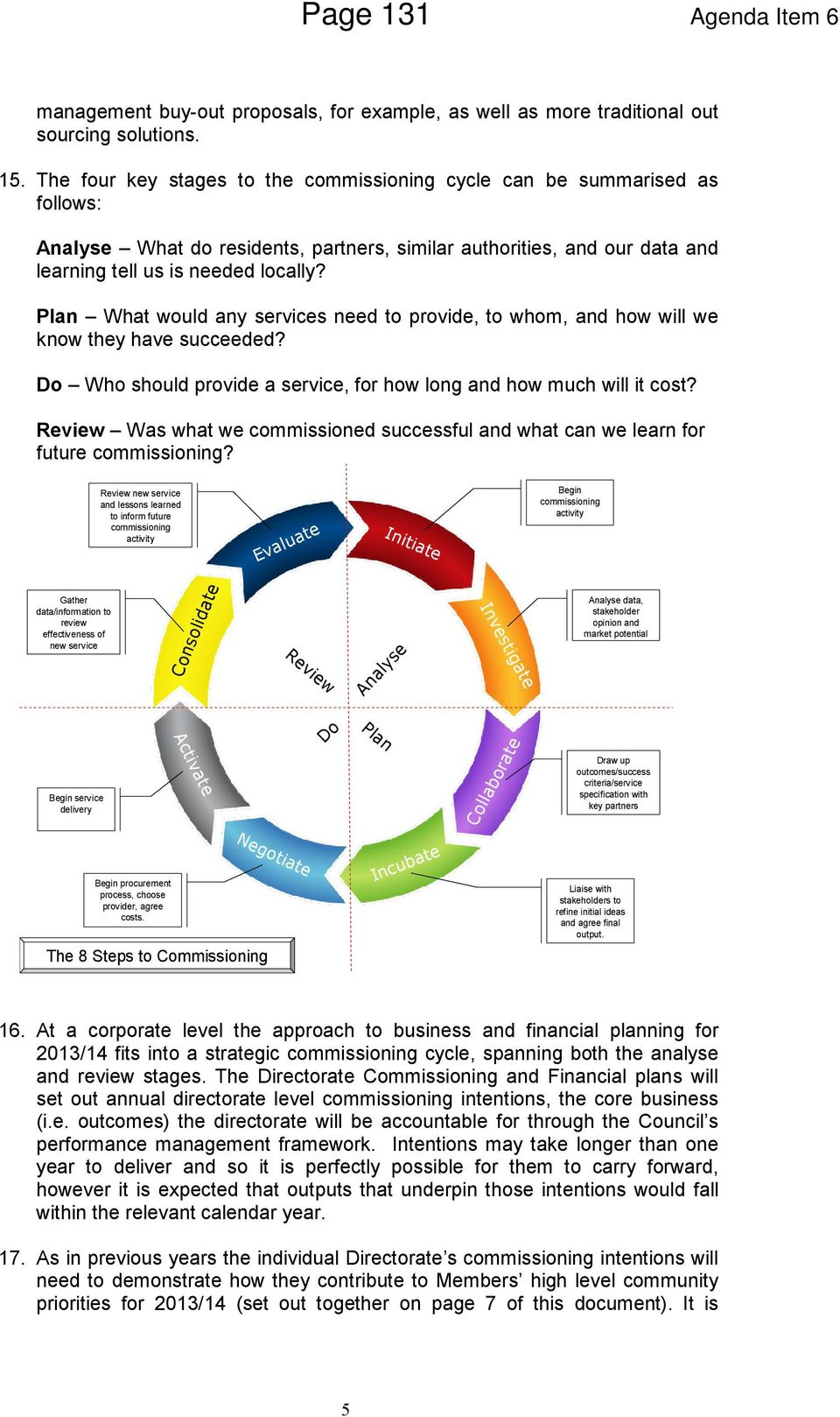 Plan What would any services need to provide, to whom, and how will we know they have succeeded? Do Who should provide a service, for how long and how much will it cost?