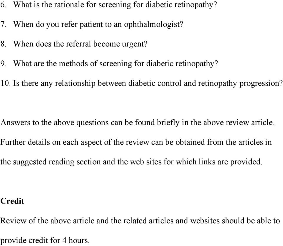 Answers to the above questions can be found briefly in the above review article.