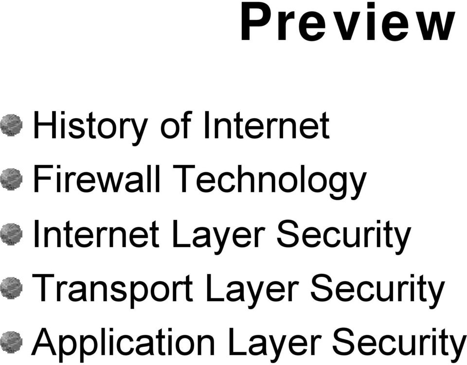 Layer Security Transport Layer