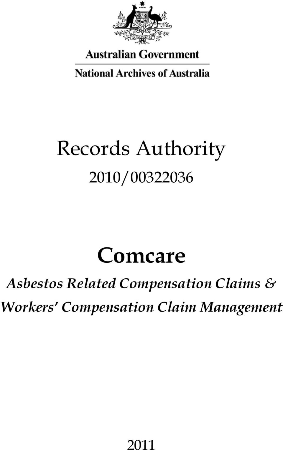 Related Compensation Claims &