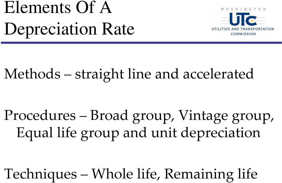 group, Vintage group, Equal life group and