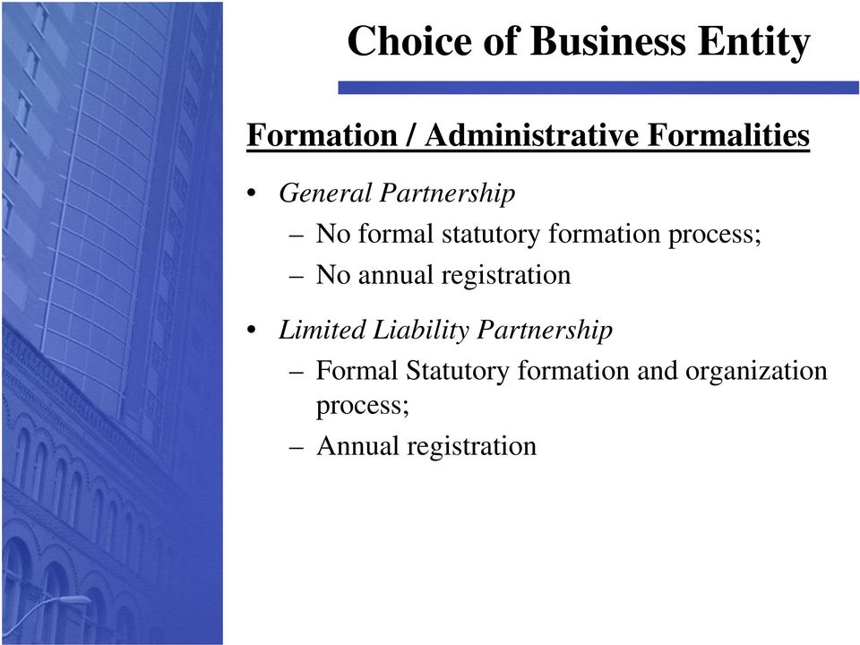 annual registration Limited Liability Partnership