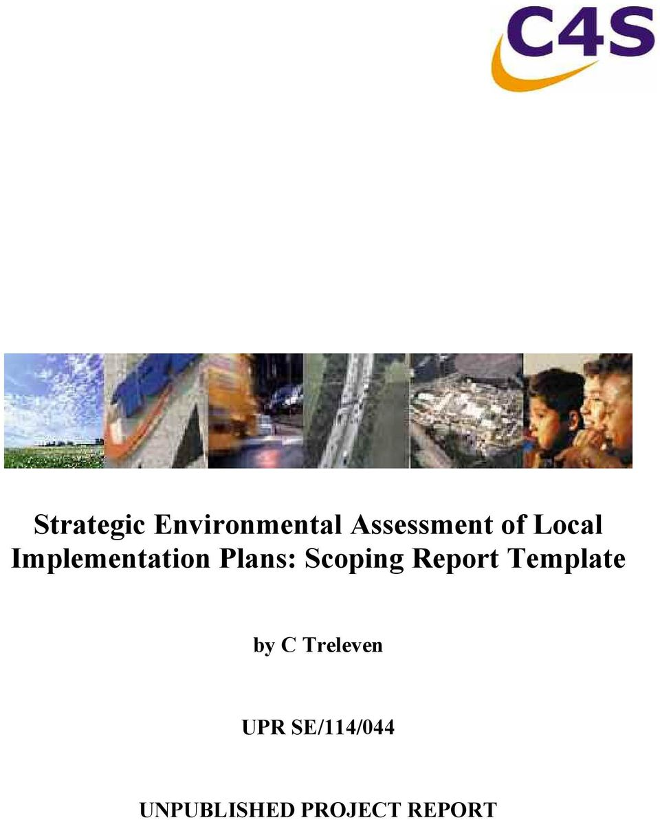 Implementation Plans: Scoping