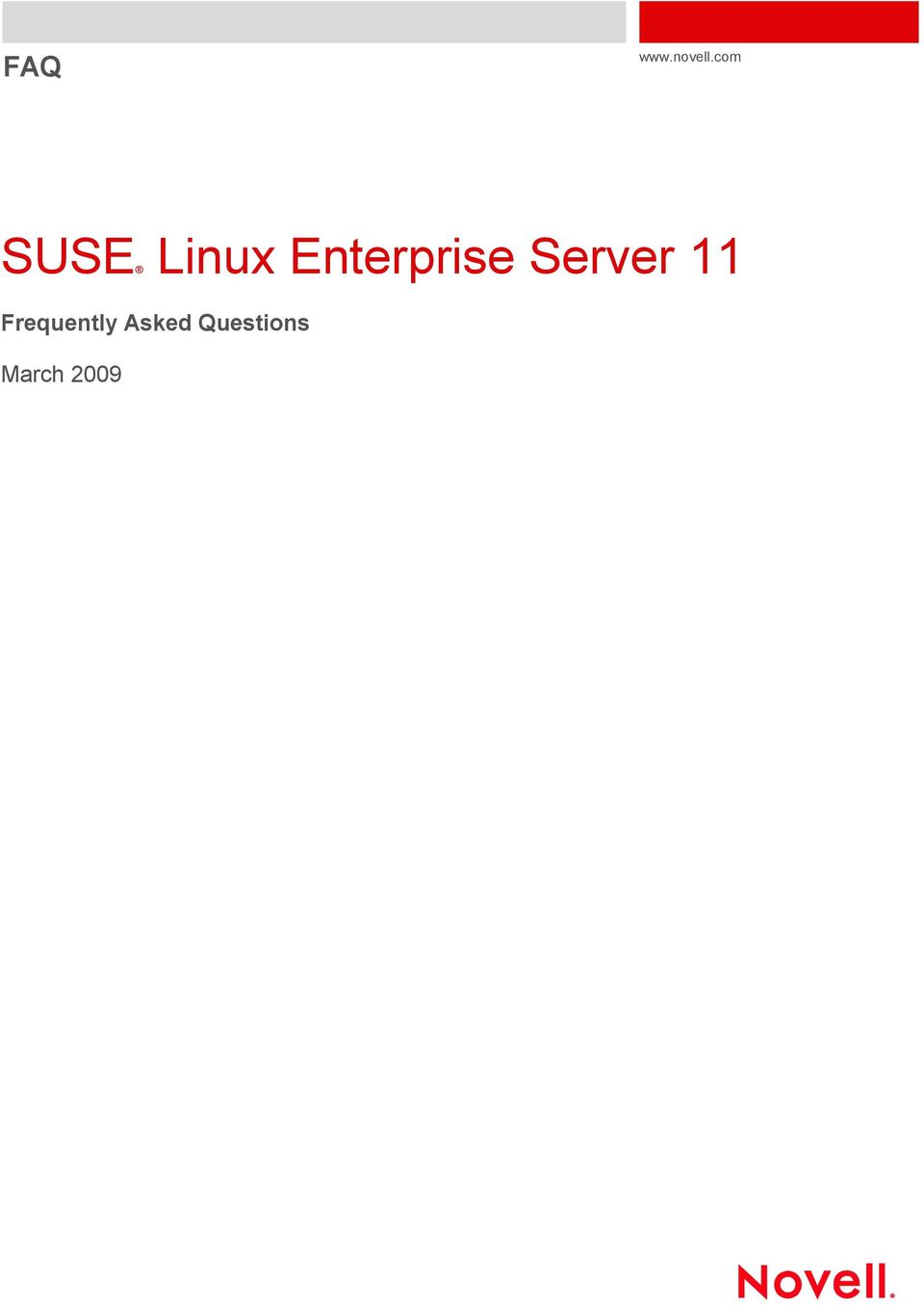SUSE Linux Enterprise Server 11 - PDF