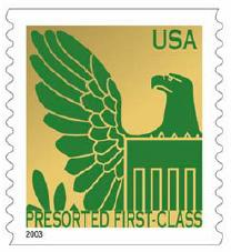 Precanceled Stamps Precanceled stamps can be used for: Presorted First-Class Mail