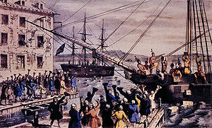 Boston Tea Party 1773 Protesting the Tea Act Tea Act: Gave British owned company exclusive rights to sell tea in colonies The Protests Men