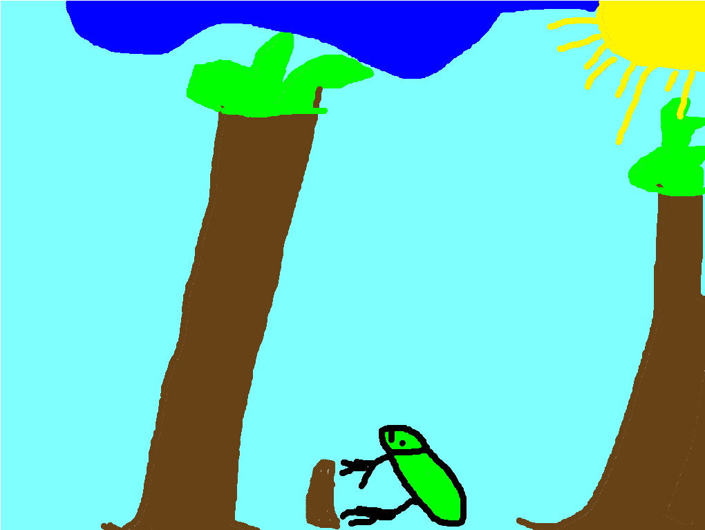 Amazing Frog By Tyler My amazing animal is the frog. It lives ponds and streams in North America. It is a carnivore and it eats insects and other small animals. It can weigh 1 pound.