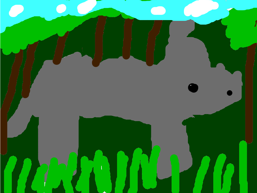 Amazing Rhinoceros By Dylan B. My amazing animal is rhinoceros. It lives grasslands and forests in Africa. It is an herbivore and it eats grass. It can weigh 7,000 pounds.